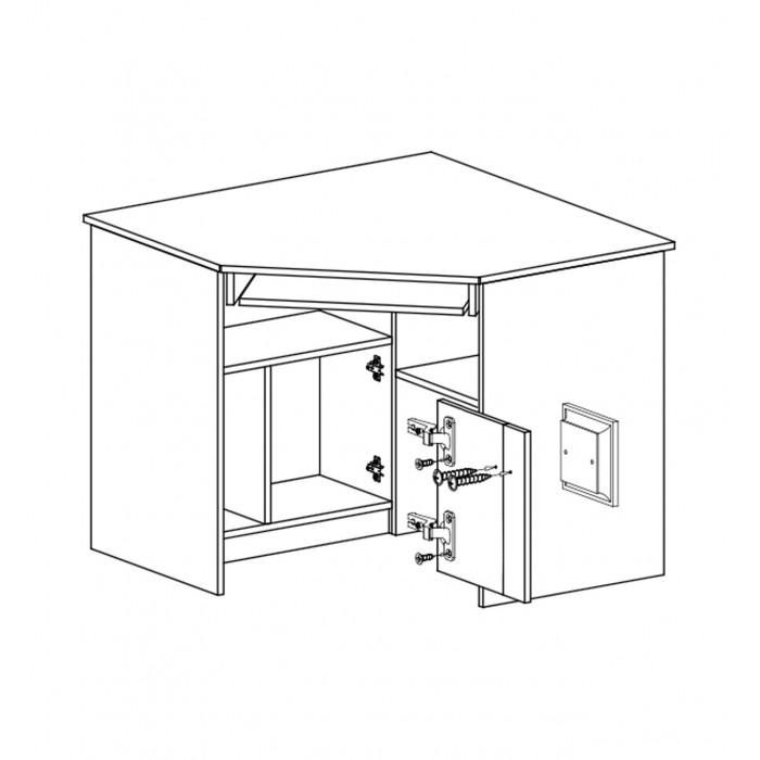 biurko narożne gumi G11