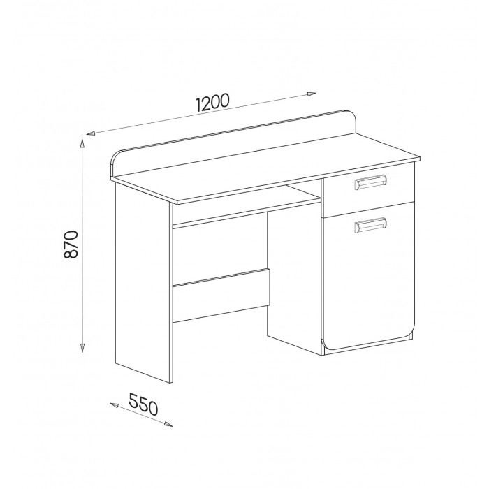 LORENTO biurko L10