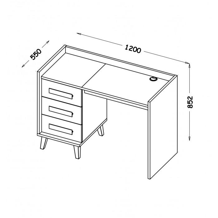 WERSO biurko W8