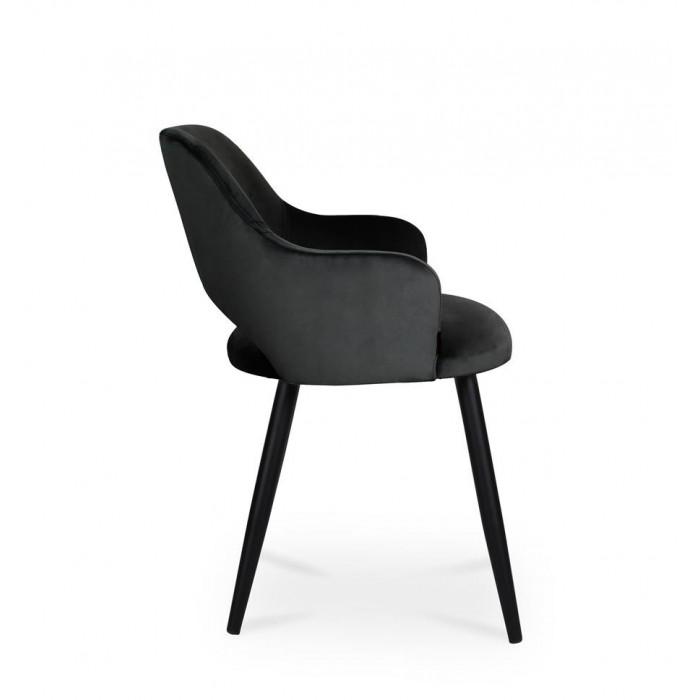 krzesło MARCY / czarny / noga czarna / MG19