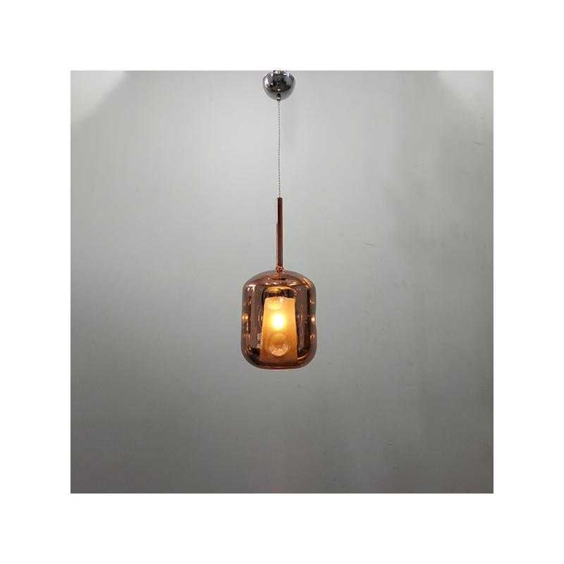 Lampa wisząca EUFORIA No. 3 różowe złoto - Różowy    Złoty