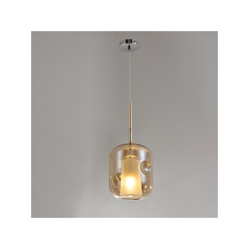 Lampa wisząca EUFORIA No. 3 bursztynowa - Bursztynowy