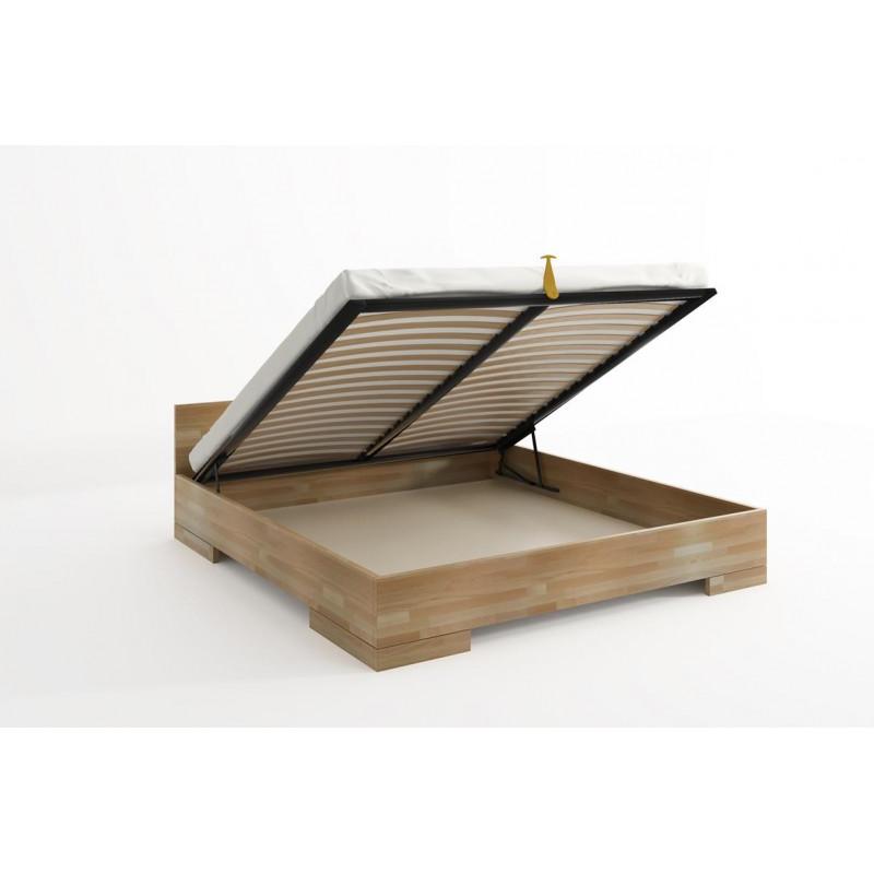 Łóżko bukowe SPECTRUM Maxi&ST 180x200