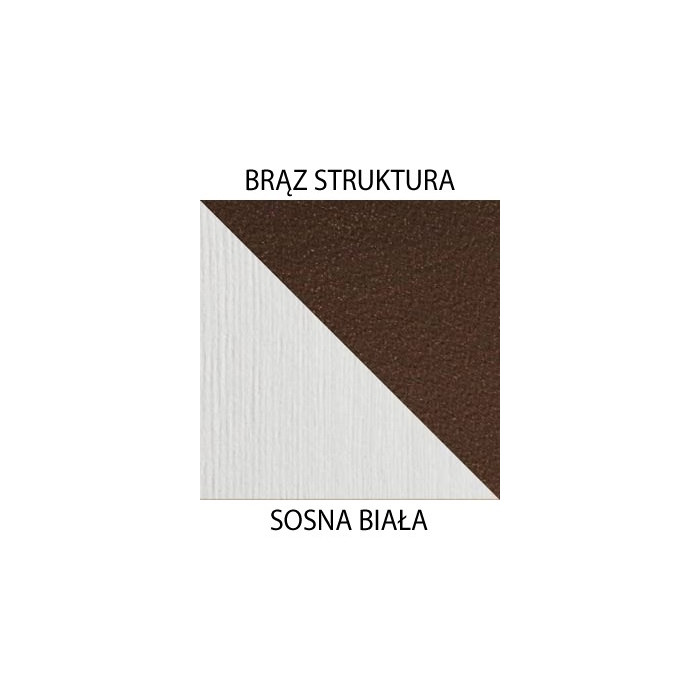 Brąz struktura / sosna biała