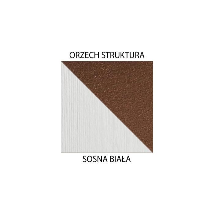 Orzech struktura / sosna biała