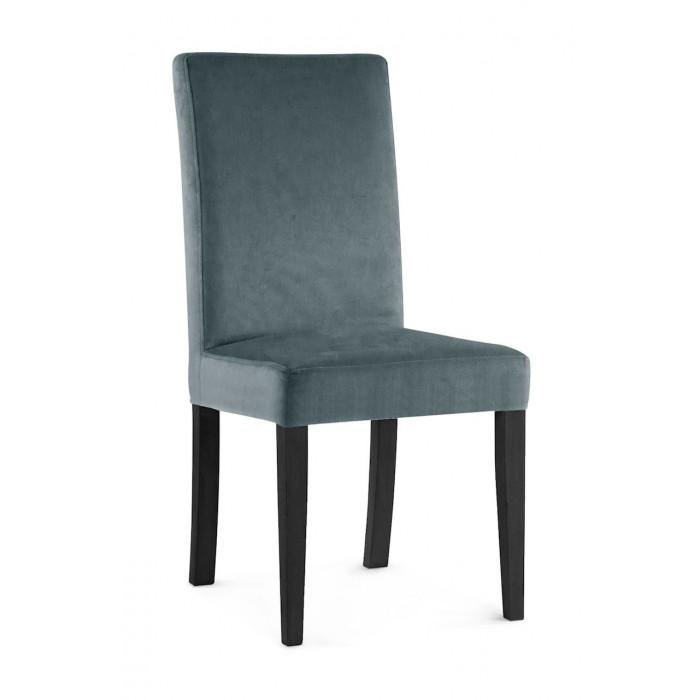 Krzesło WILLIAM szary/ noga czarna/ PA06