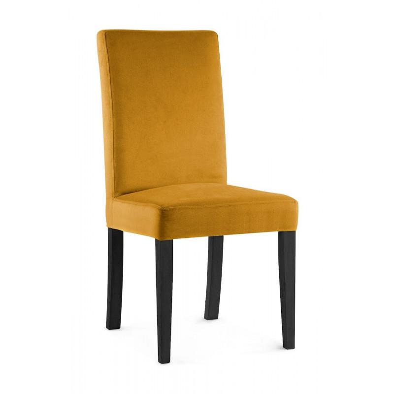 Krzesło WILLIAM miodowy/ noga czarna/ KR01