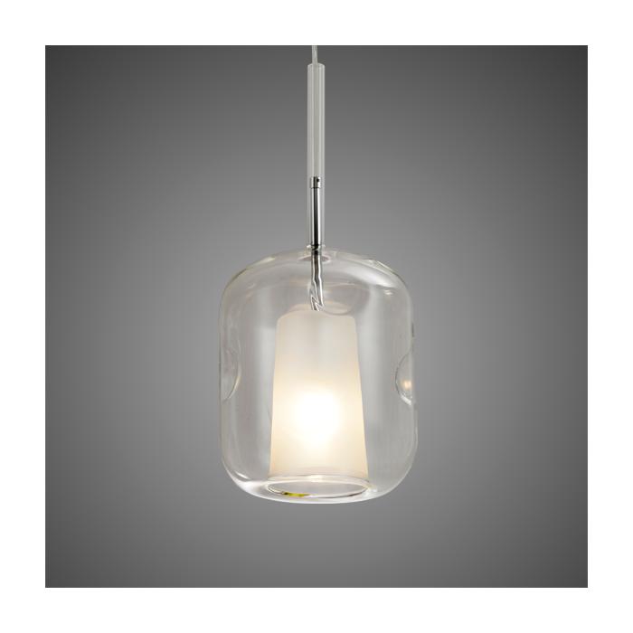 Lampa wisząca EUFORIA No. 3 przeźroczysta - Przezroczysty