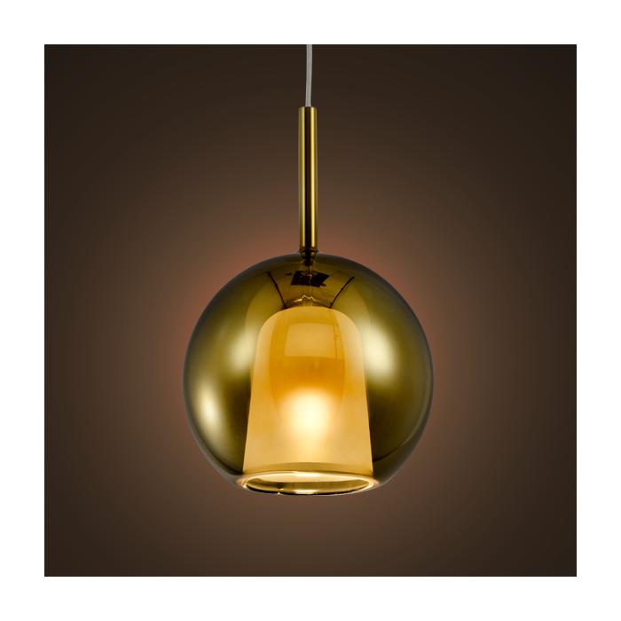 Lampa wisząca EUFORIA No. 1 25cm złota - Złoty  25 cm