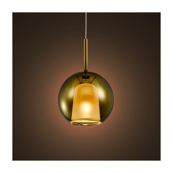 Lampa wisząca EUFORIA No. 1 16cm złota - Złoty  16 cm