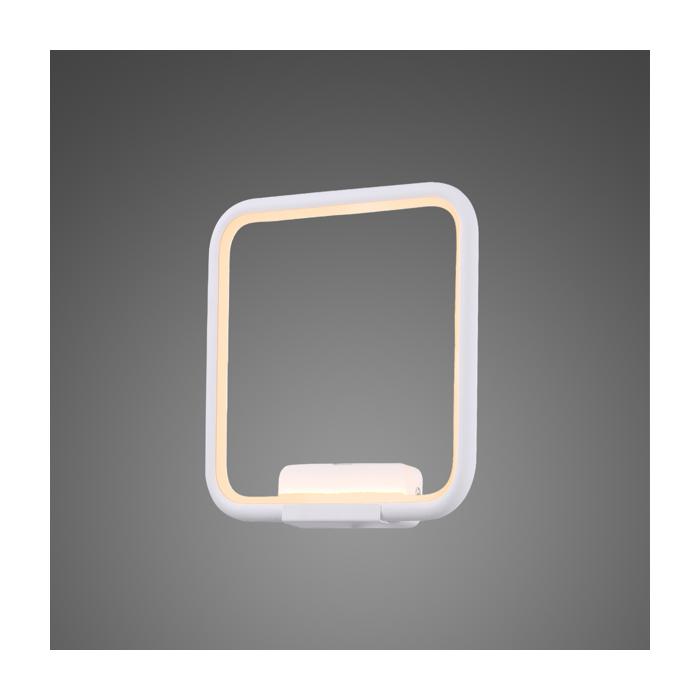 Kinkiet Ledowe Kwadraty no. 1 in 3k biały Altavola Design