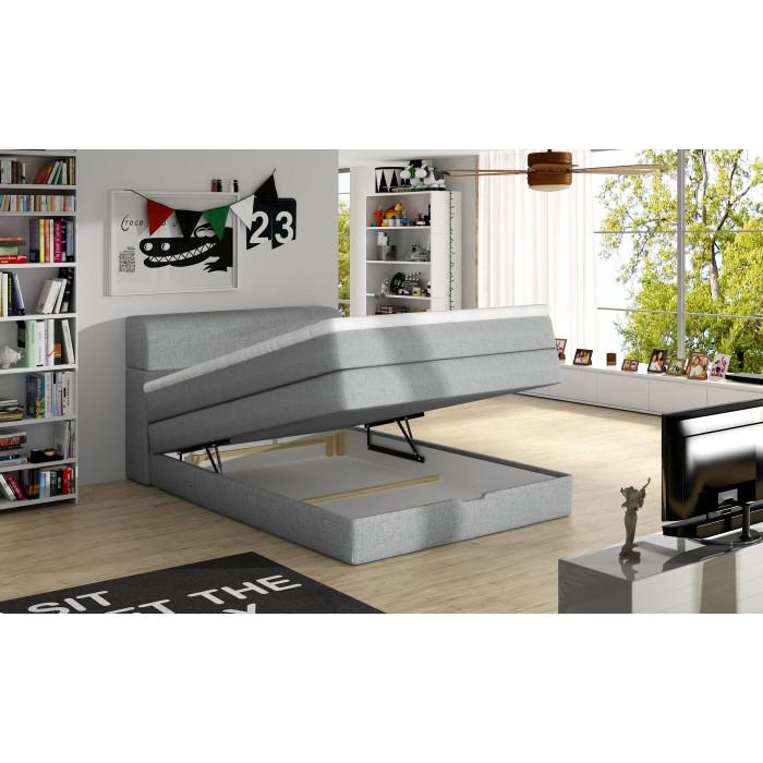 Łóżko kontynentalne AQUA 140x200