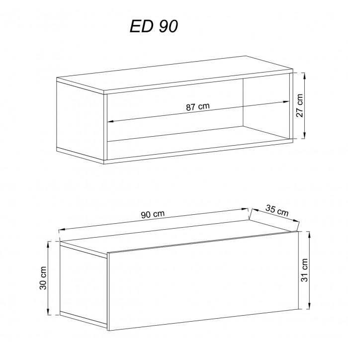 ENJOY - Szafka wisząca ED90