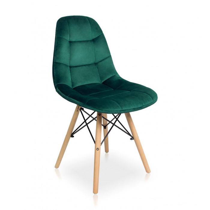 krzesło Fabio Velvet zielony