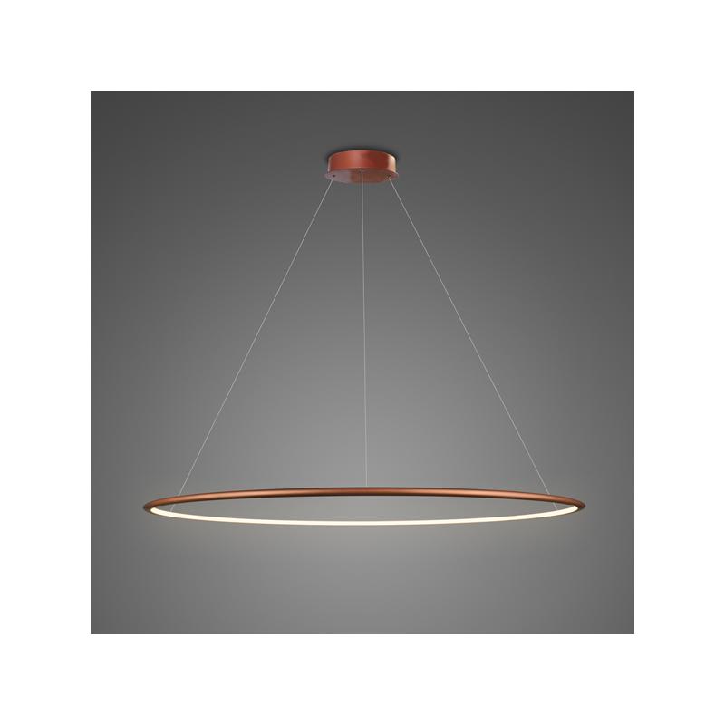 Altavola Design: lampa wisząca Ledowe Okręgi No.1 miedziana in 3k - miedziany