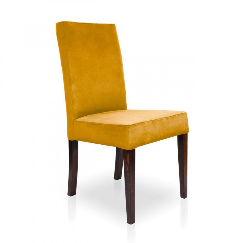 Krzesło WILLIAM miodowy/ noga orzech/ KR01