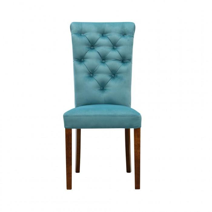 Krzesło z pikowaniem chesterfield ADELMIRA