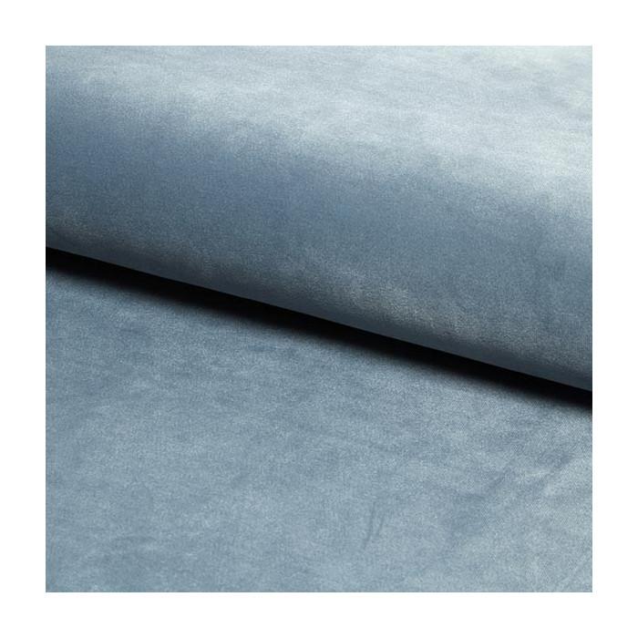 krzesło POLO / srebrno-niebieski / noga czarno-złota / BL06
