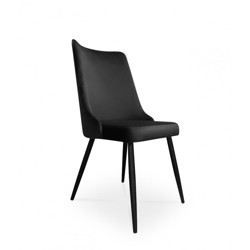 krzesło VICTOR / czarny / noga czarna / MG19