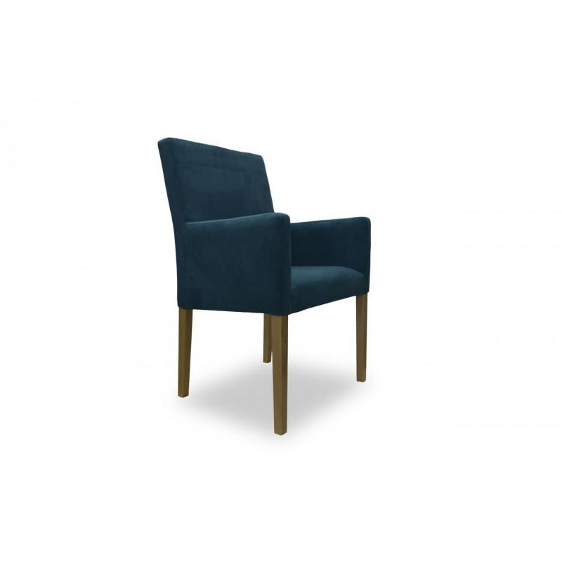 Tapicerowany fotel NARROW 98 do jadalni lub salonu
