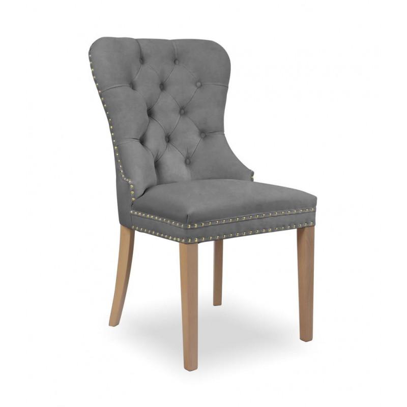 krzesło MADAME II GOLD szary / dąb / TR15