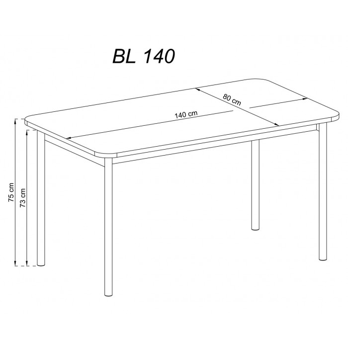 BASIC - Stół BL140