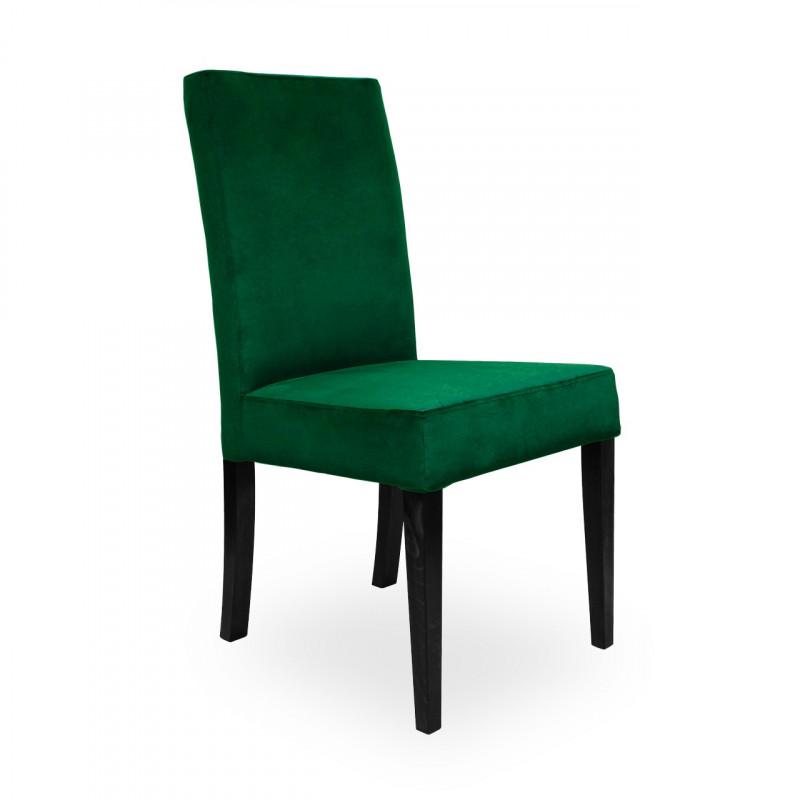 Krzesło WILLIAM zielony/ noga czarna/ KR19