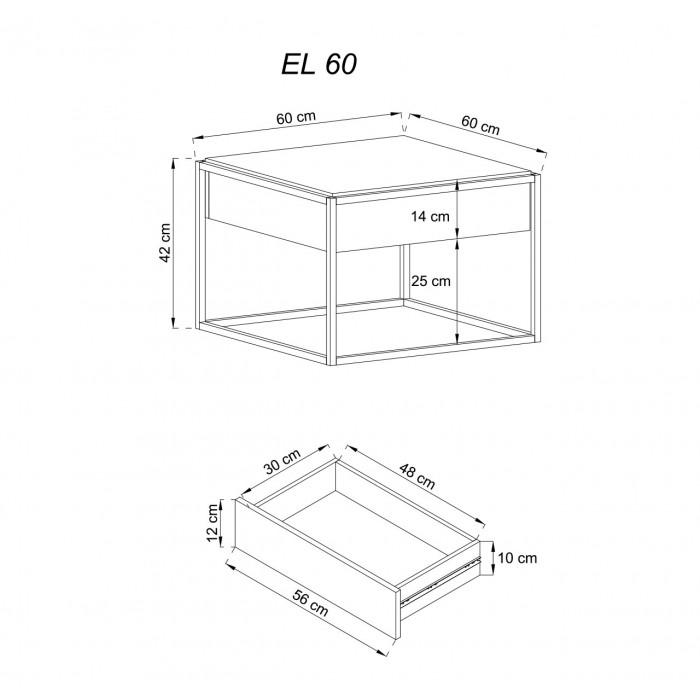 ENJOY - Ława EL60