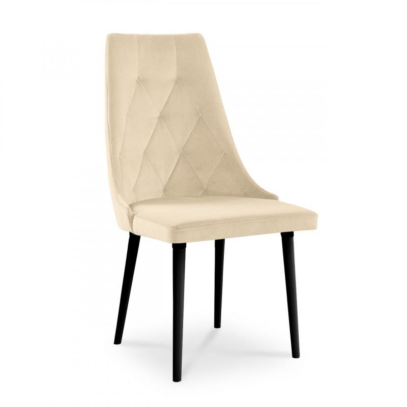 krzesło CARO VELVET  beżowy / PA02