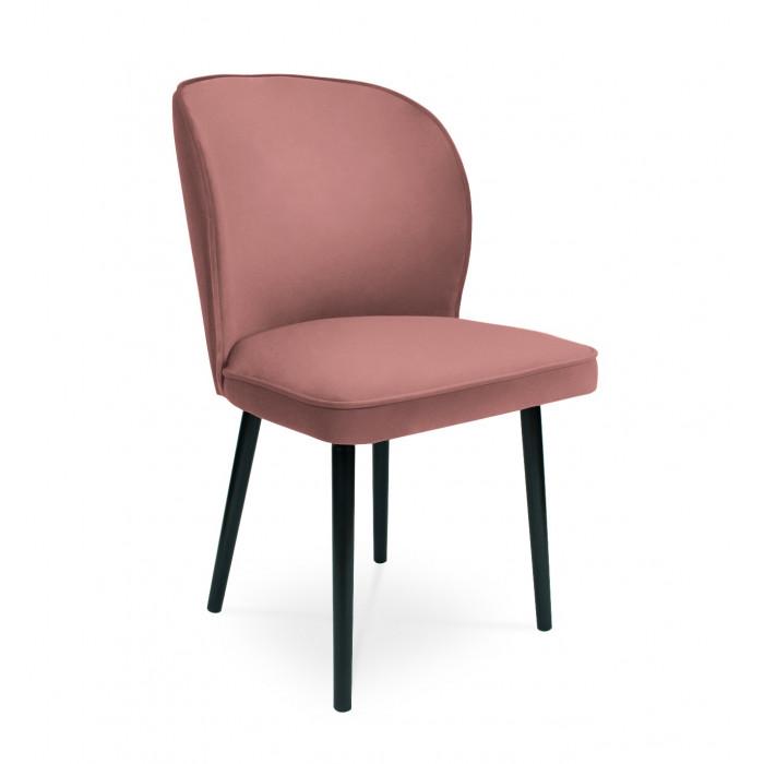 Krzesło tapicerowane \RINO antyczny róż / KR29
