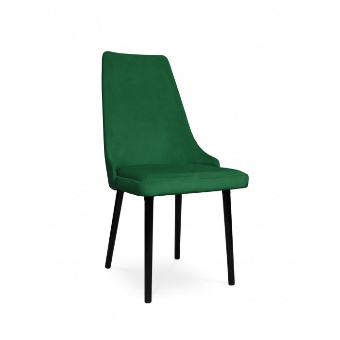 krzesło tapicerowane COTTO VELVET zielony / KR19