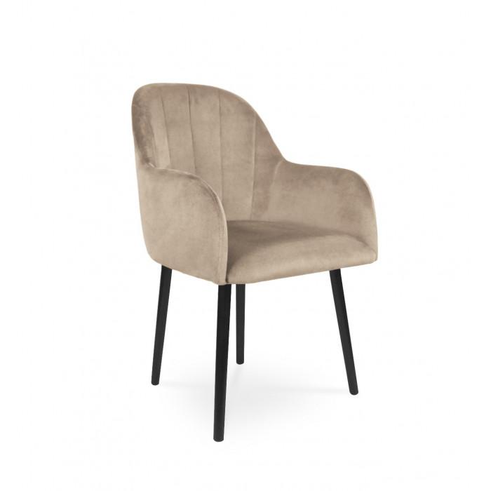 Krzesło tapicerowane BESSO beż / PA02
