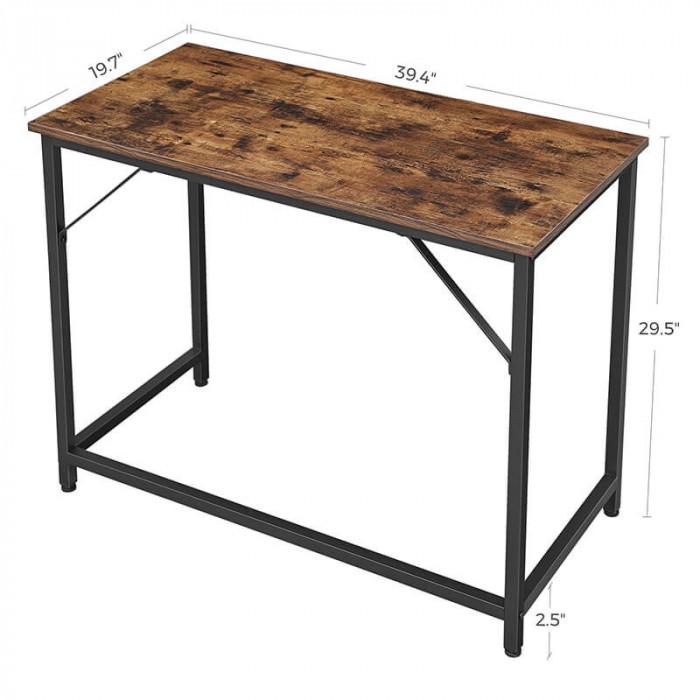 Eleganckie biurko w stylu industrialnym
