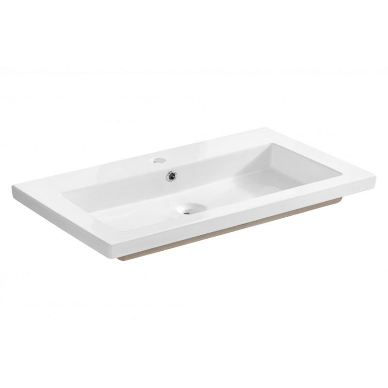 Umywalka ceramiczna SPIRIT WHITE 80 - biała