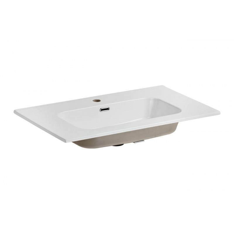 Umywalka ceramiczna GO 80-8095 - biała