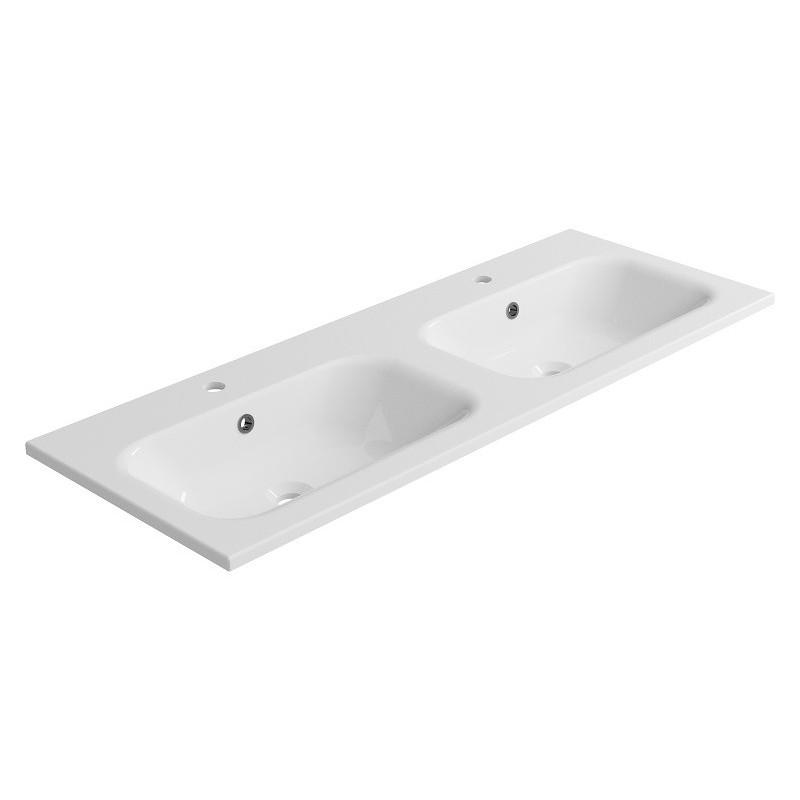 Umywalka meblowa TULIP 1210D - biała
