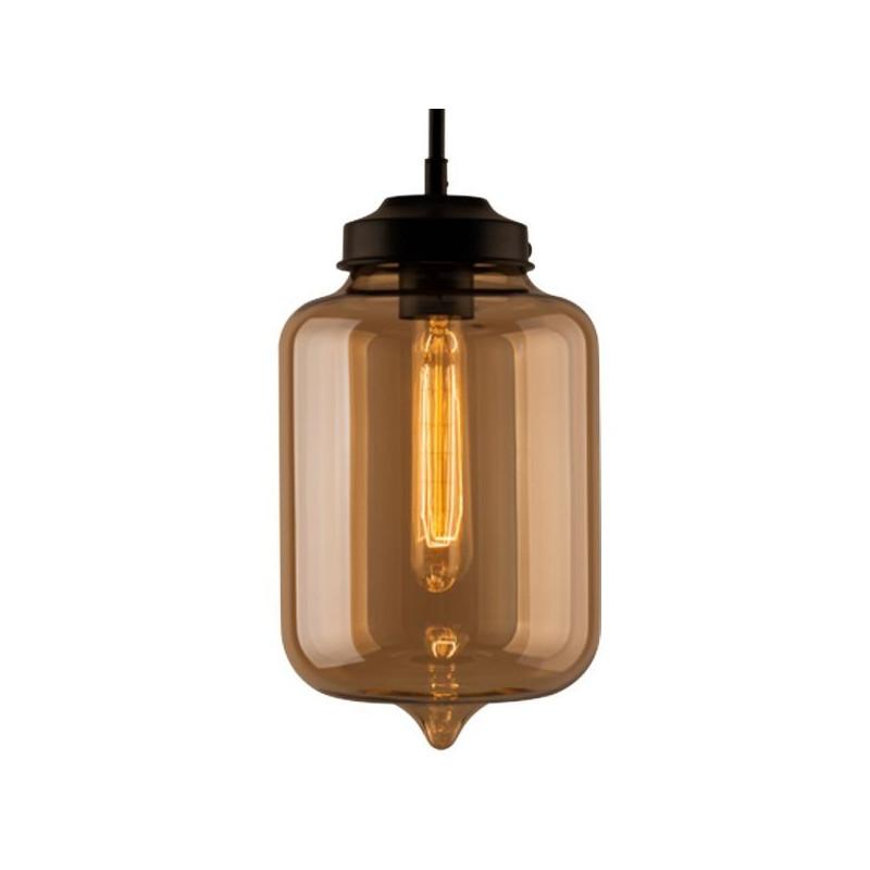 LONDON LOFT NO. 2 B-LAMPA WISZĄCA - Bursztynowy