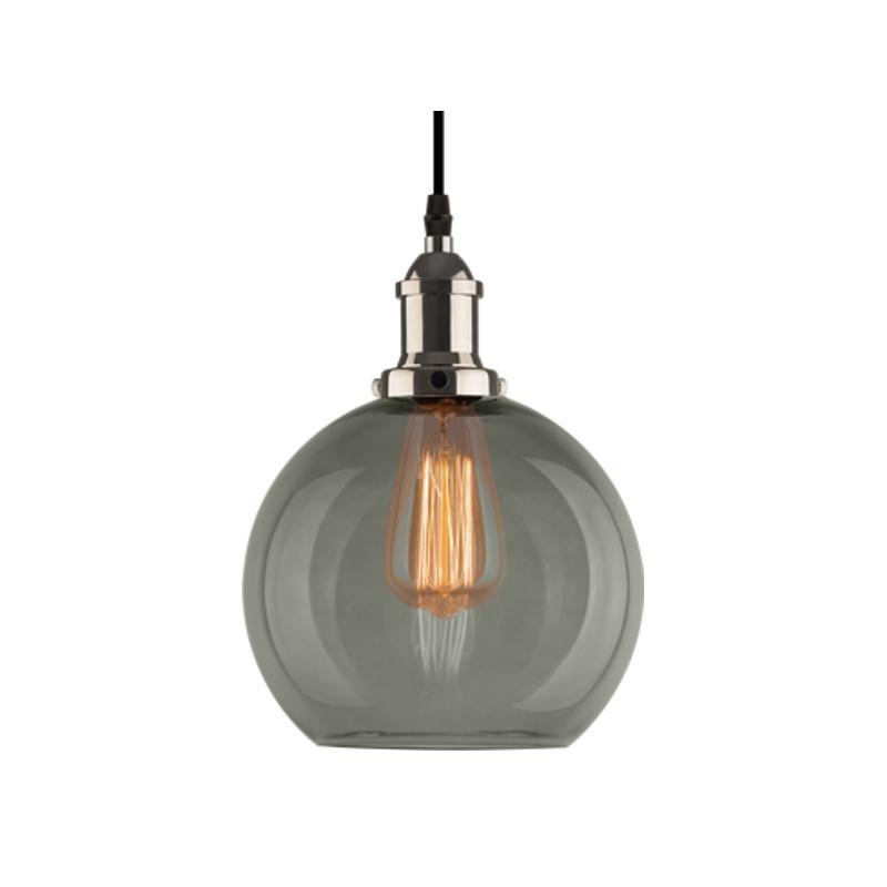 NEW YORK LOFT NO. 2 SCH - lampa wisząca - Chrom    Dymny