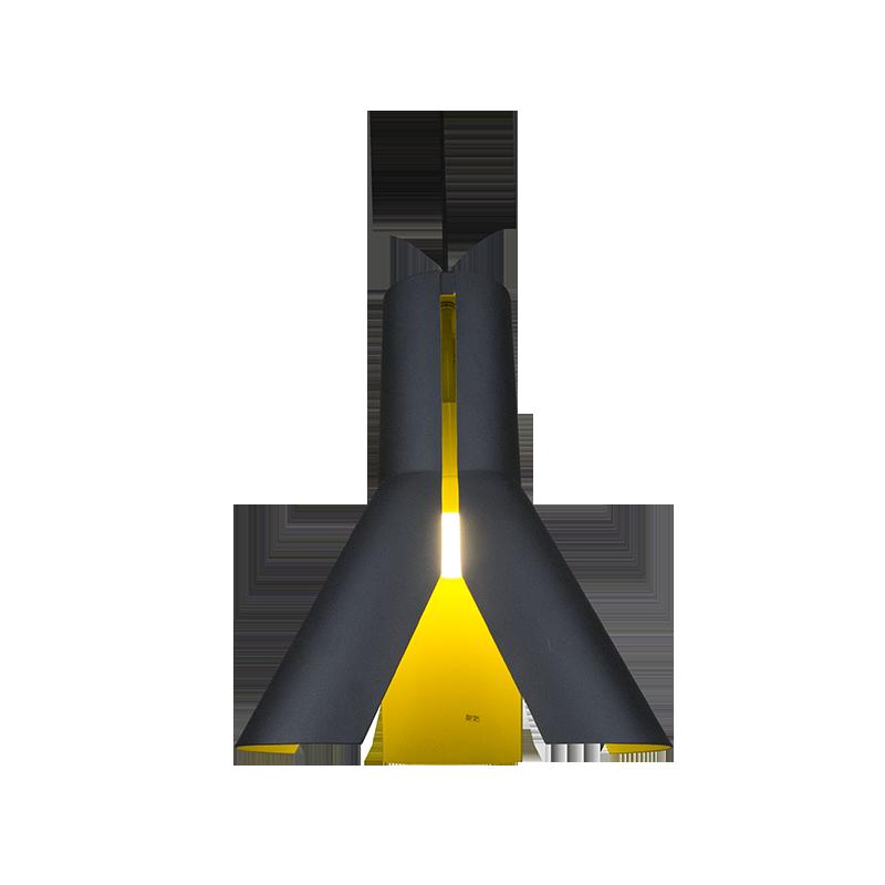Origami Design No.1 - Czarny    Żółty