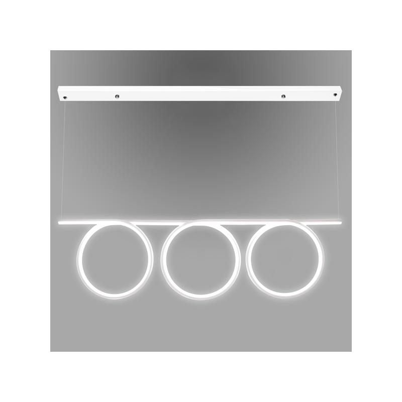 Lampa Ledowe Okręgi No. 8 - Biały