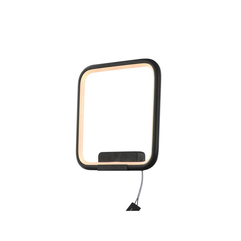 Lampa Ledowe Kwadraty – kinkiet 3k - delikatnie ciepła