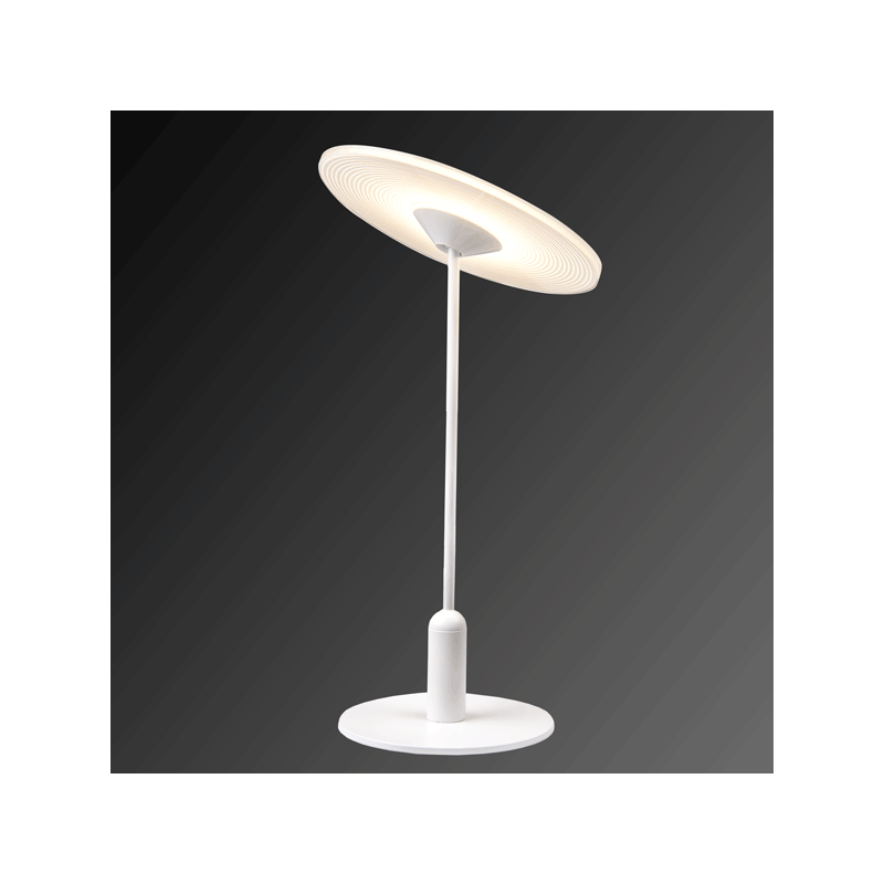 ALTAVOLA DESIGN: Minimalistyczna lampa LED stołowa – VINYL T - lampa stojąca