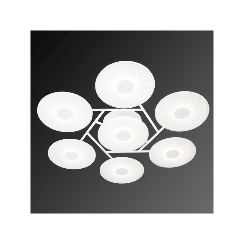 ALTAVOLA DESIGN: Minimalistyczna lampa LED wisząca – VINYL 7 - lampa sufitowa