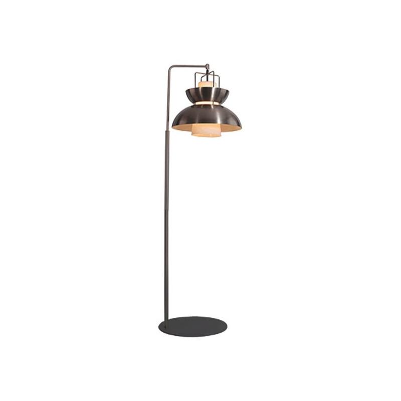 Lampa stojąca Scandinavian niklowana - nikiel    satynowy