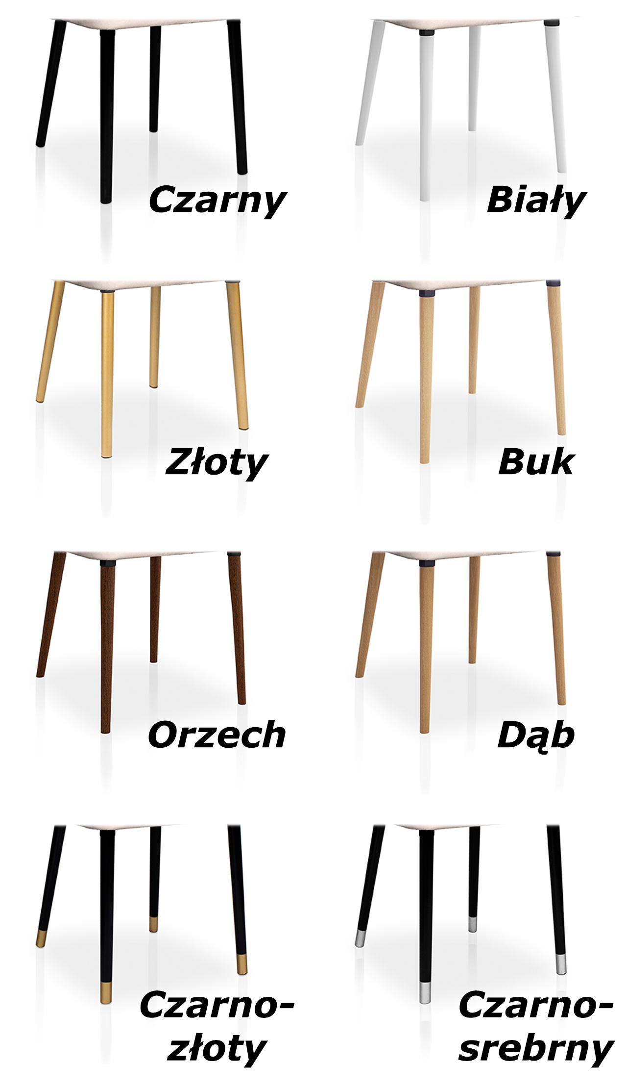 wybarwienia nóg krzeseł caro