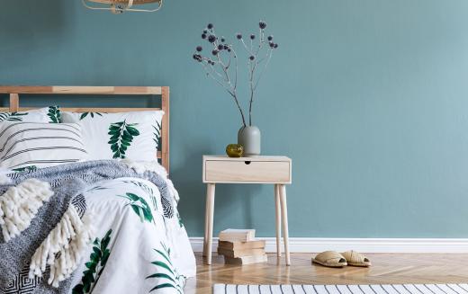 Jaki kolor do sypialni wybrać, aby stworzyć w niej idealne miejsce do odpoczynku?