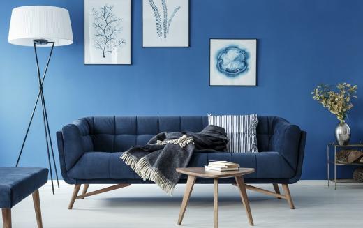 Classic Blue – jak wykorzystać kolor roku 2020 we wnętrzach?