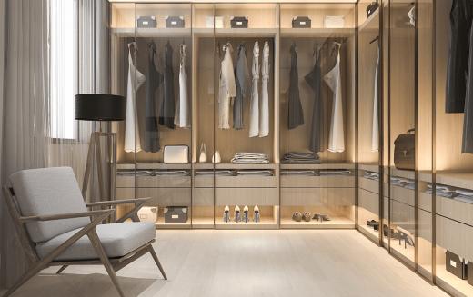 Własna garderoba - jak ją zaprojektować i czego nie może w niej zabraknąć?